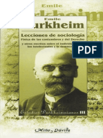 Durkheim.lecciones de Sociologia_8495294389