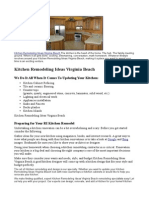 Kitchen Remodeling Ideas Virginia Beach