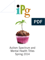 IPG Spring 2014 Autism Spectrum and Mental Health Titles