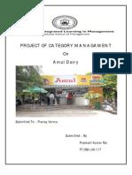 Project of Category Managament Prashant Kumar Rai