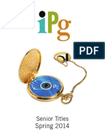 IPG Spring 2014 Senior Titles