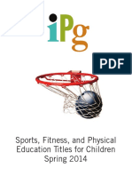 IPG Spring 2014 Sports, Fitness and Physical Education Titles