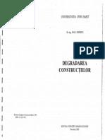 Degradarea Constructiilor-Paul Popescu