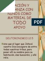 ORACIÓN Y ALABANZA CON NIÑOS COMO MATERIAL DE