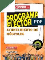 Programa Electoral Laborales 2.009