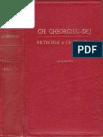 Gheorghiu-Dej-Articole Si Cuvantari Partea a 2-A