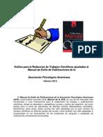 Manual de Estilo APA (2012)