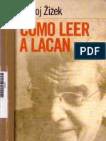Zizek Slavoj Como Leer a Lacan