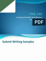 11AMEng 102BC PortfolioIntro WritingProcess MLA