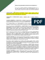 CONTRATO DE COMODATO ASSUNÇAO PROMOTORA MODELO