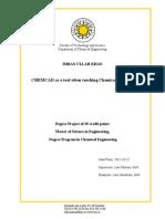 Diseño de plantas quimicas Chemcad