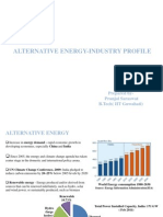 Alternative Energy-Industry Profile