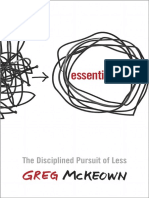 ESSENTIALISM by Greg McKeown - Excerpt