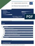 GPAO - Gestion de Production Assistée par Ordinateur