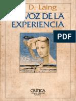 62251054 La Voz de La Experiencia Ronald Laing 1982