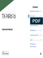Onkyo TX-NR616 Manual