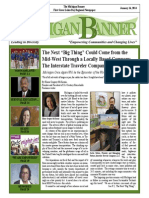 The Michigan Banner January 16, 2014 Edition
