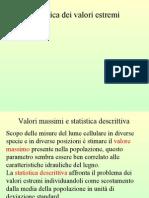 Statistica dei valori estremi