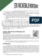 CV 1º 1r quatrimestre LAS 10 MERAVELLES(Montserrat i Palau de la Musica)