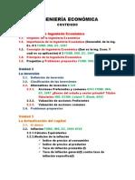 INGENIERÍA ECONÓMICA, Contenido 2012 (2)
