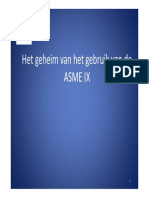 ASME IX Lasgroep West