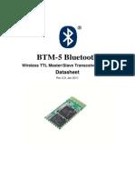 Bluetooth Module Btm5 Datasheet