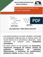 Metabolitos Secundarios de Plantas y Su Actividad Insecticida