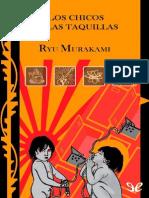 Los Chicos de Las Taquillas - Ryu Murakami