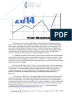 RefineM-2014 Project Management Trends