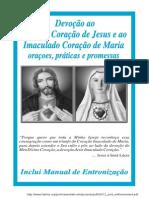 Consagração ao Sagrado Coração de Jesus e Maria