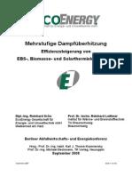 R. Schu - 2008 EBS-, Biomasse- Und Solarthermiekraftwerken