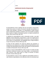 Emprendimiento Social y Empresarial