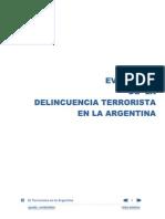 Evolucion de la Delincuencia Terrorista en la Argentina