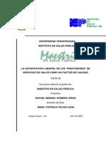 RAFAEL_ROMERO_ARIAS Tesis Satisfaccion Laboral en Salud
