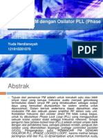 Pemancar FM Dengan Osilator PLL (Phase Lock