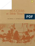 Success at Bible Teaching