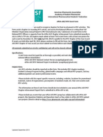 APhA-ASP IPSF Event Form Example 1
