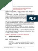 Especificaciones Tecnicas Instalaciones Electricas Rehubicacion