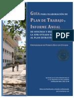 Guia Informe Anual y Plan de Trabajo 15octubre2012 1