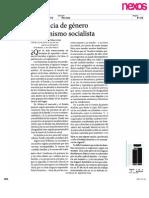 Justicia de Genero y Feminismo Socialista-1