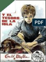 Cinco 01 - Los Cinco y El Tesoro de La Isla, Los - Enid Blyton