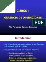 Sesion 05 - Pronostico de Operaciones