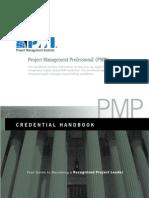 PMI PMP Certification Handbook
