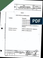 Subestaciones Normalizadas CADAFE 156- 88