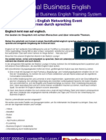 Optimal Business English Networking Event