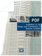 Guidelines on the Design and Construction of Bamboo Scaffolds