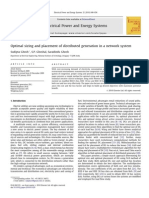 23 Optimal Sizing and Placement of Distributed Generation in a Network System (1)