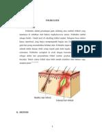 Status Ujian Folikulitis