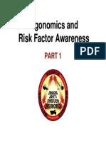 Ergonomics Awareness to Employees