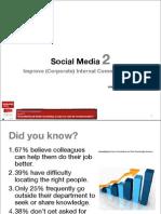Social Media to Improve (Corporate) Internal Communication